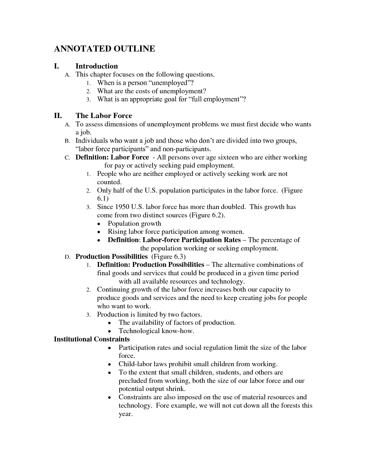 007 Research Paper Apa Introduction Outline Annotated Format 82075 Striking For An Of Full