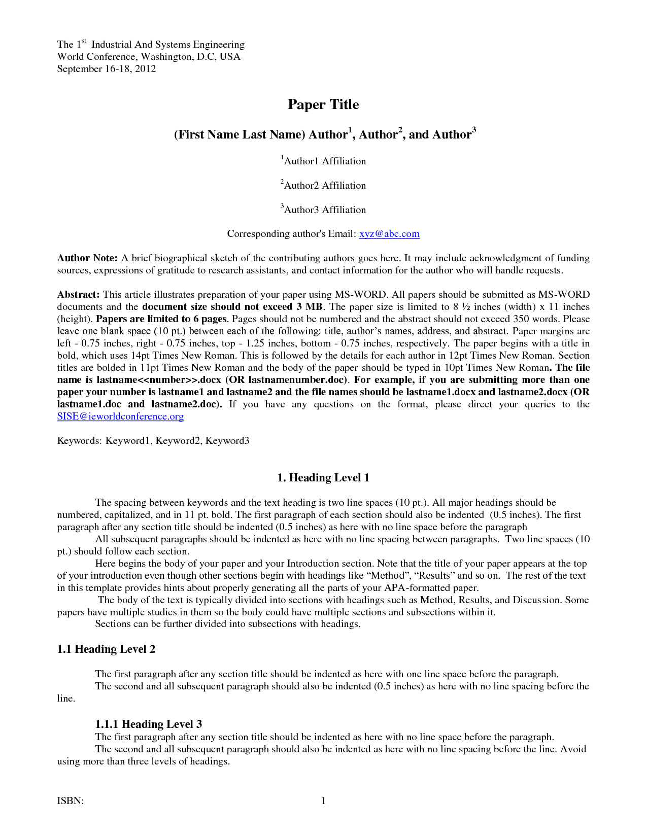 007 Research Paper Apa Template Doc 6th Edition Unusual Google Docs Full