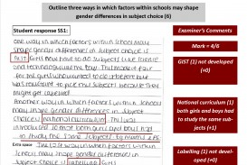 007 Research Paper Aqa Sociology Methods Past Papers Marked Example Outline Fantastic Gcse Questions
