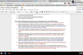007 Research Paper Argumentative Thesis Impressive How To Write A Statement For An