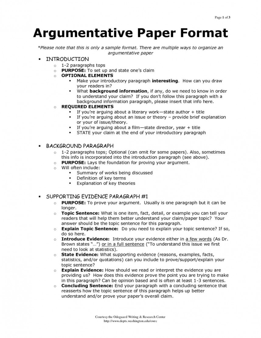007 Research Paper Arguments Argumentative Essay Examples For High School Oracleboss Pertaining To Imposing Rubric In A Would Counter-arguments Be Necessary