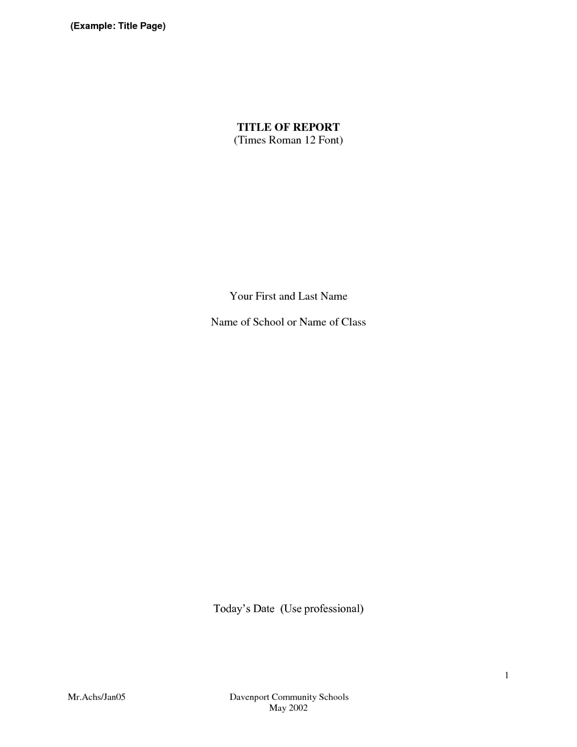 007 Research Paper Brilliant Ideas Of Title Page Example Apa Format Sample Cover For Amazing Titles First Unique Mla Style The A 1920