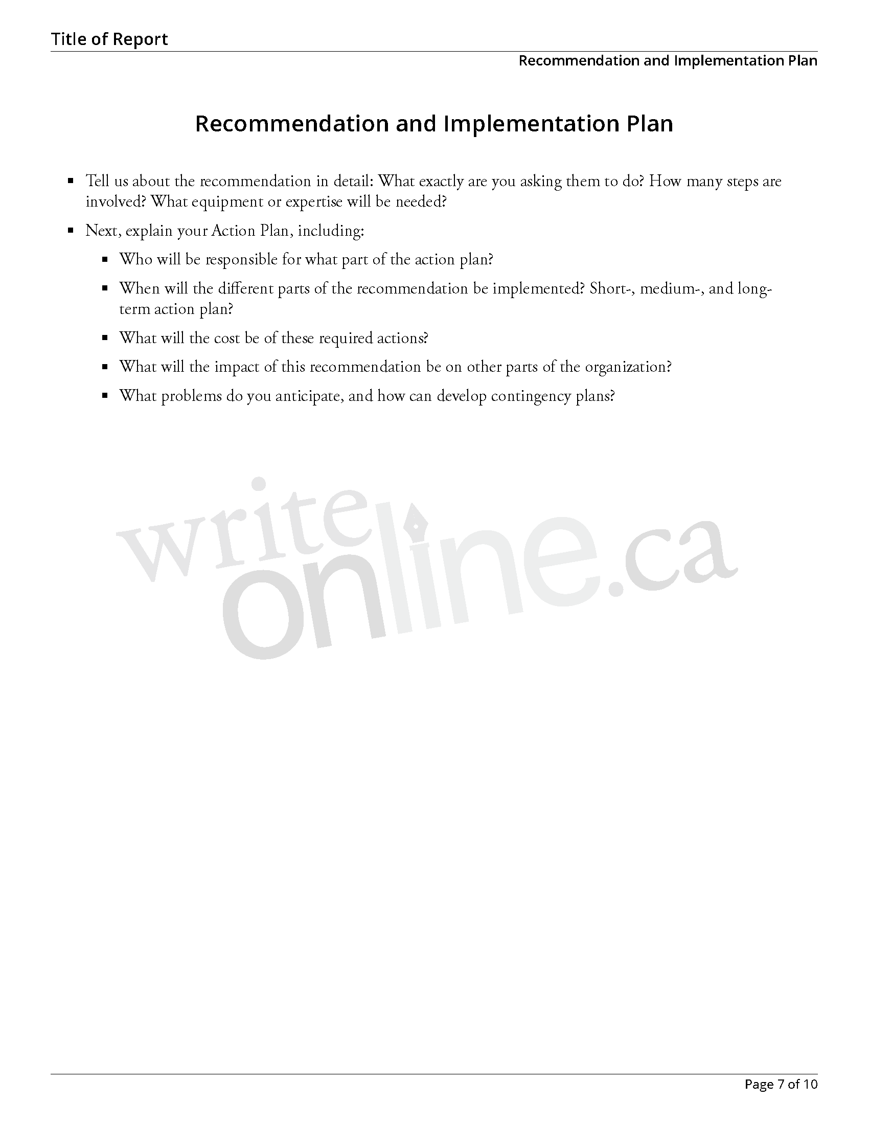 007 Research Paper Casestudy Sample Page 07 Components Of Imposing Outline Main A Full