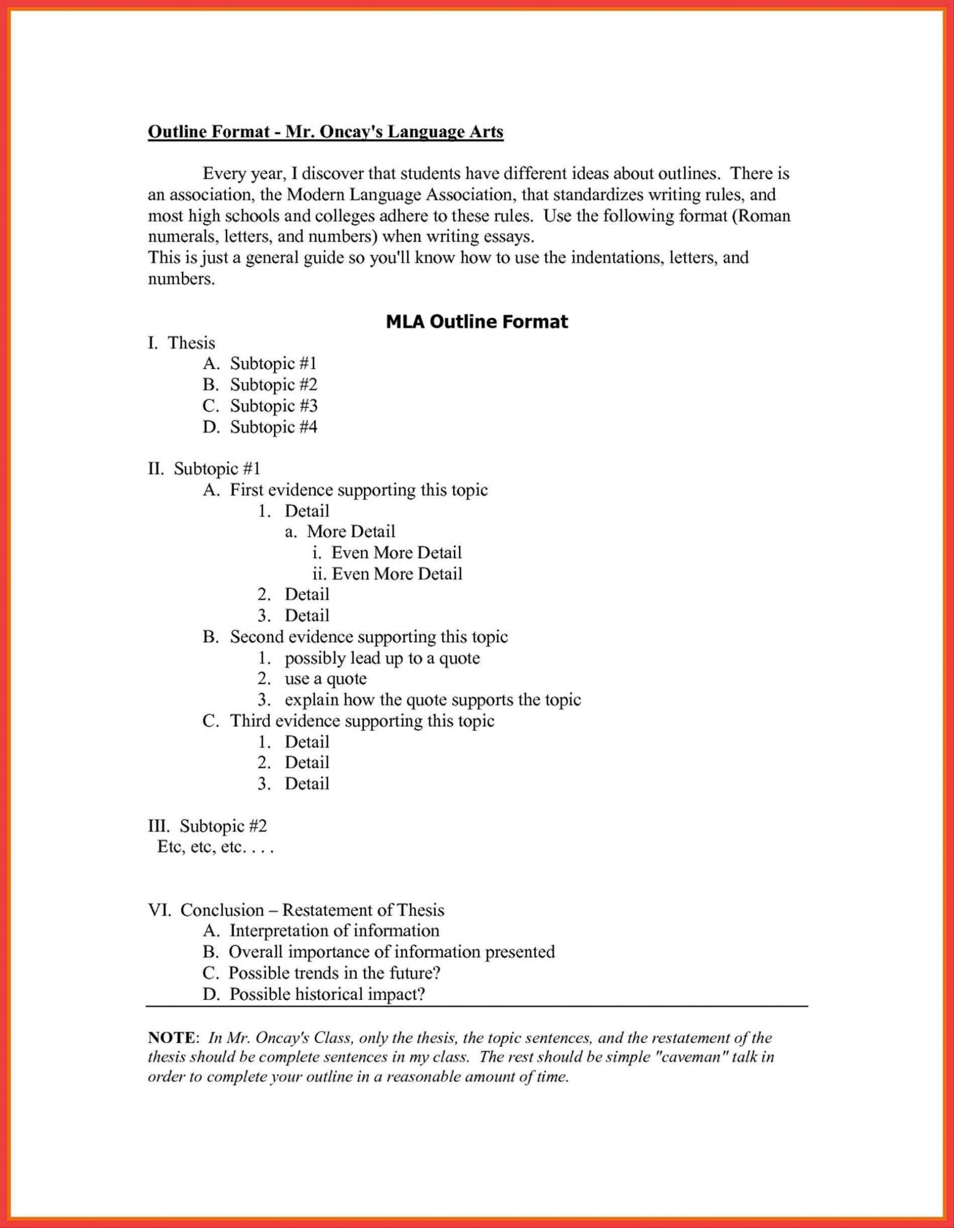 007 Research Paper College Outline Format Style Template Of Apa Inside History Essay Stunning 1920