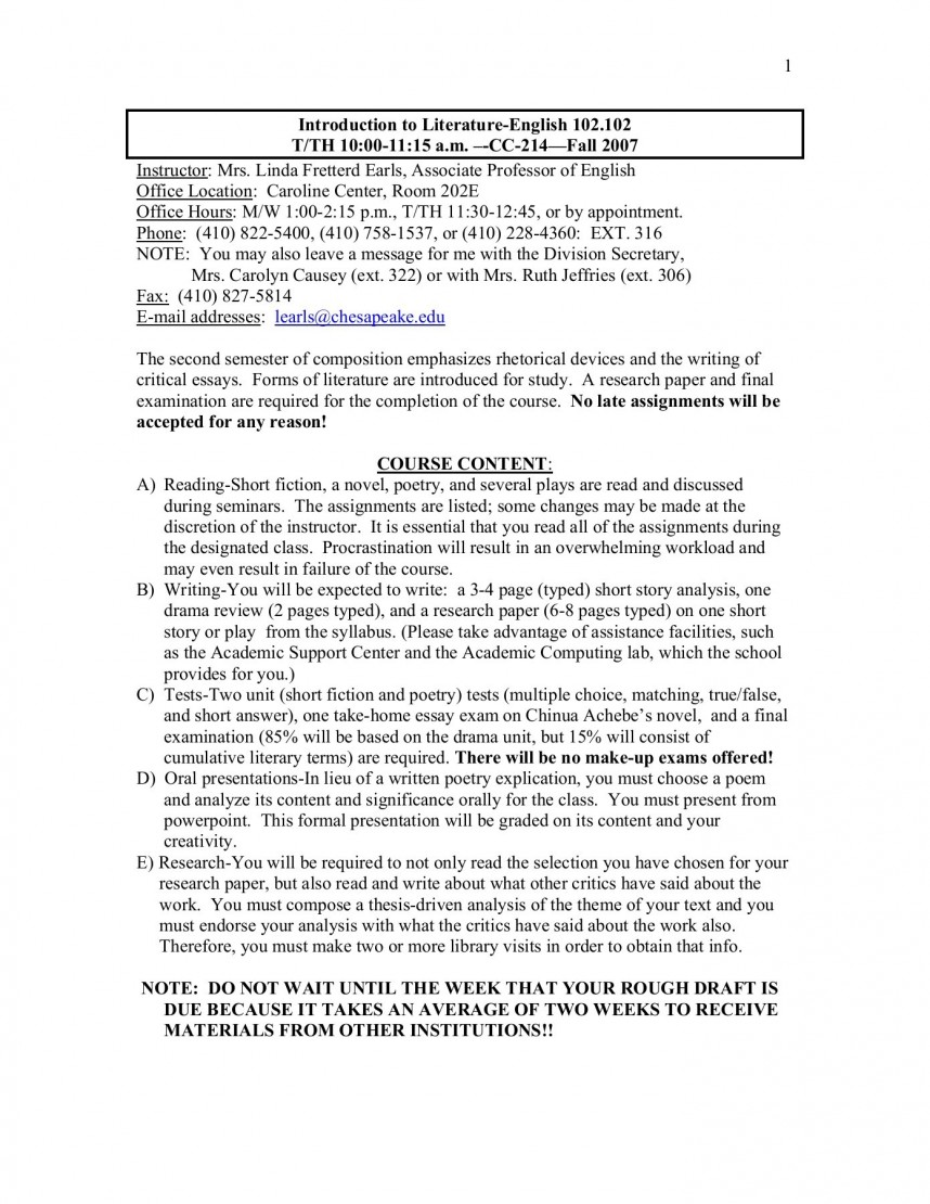 007 Research Paper English Exceptional 102 Oedipus
