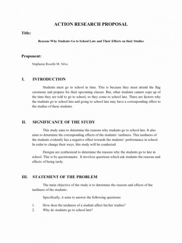 007 Research Paper Example Of Outline Apa Action Proposal Template Or Remarkable Sample A Formal For In Style 360