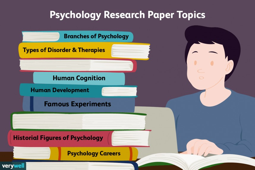 007 Research Paper Examples Of Psychology Striking Topics