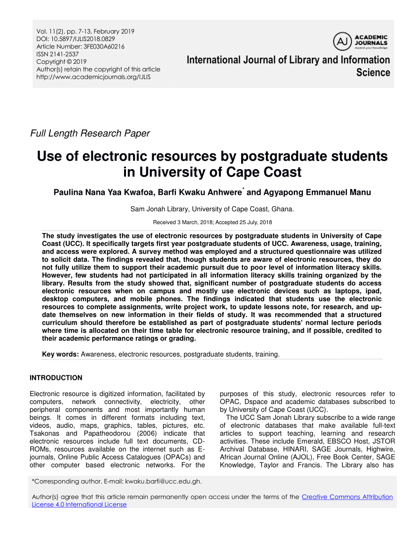 research paper resources online