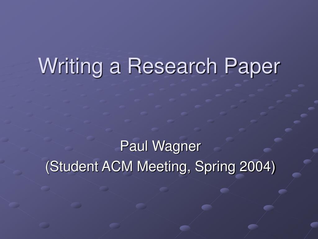 007 Research Paper How To Make Ppt Writing Staggering Prepare A Powerpoint Presentation Large