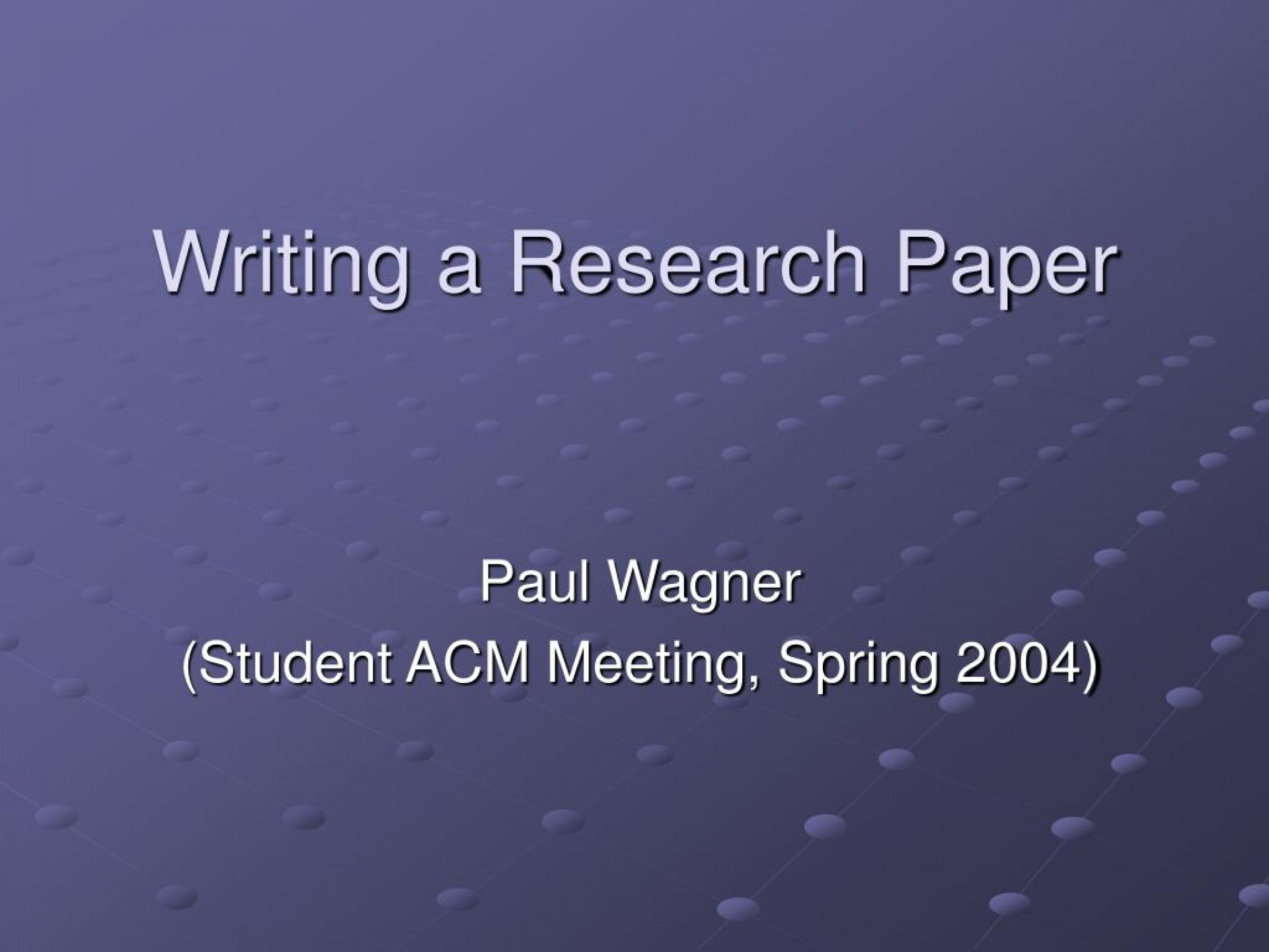 007 Research Paper How To Make Ppt Writing Staggering Prepare A Powerpoint Presentation 1920