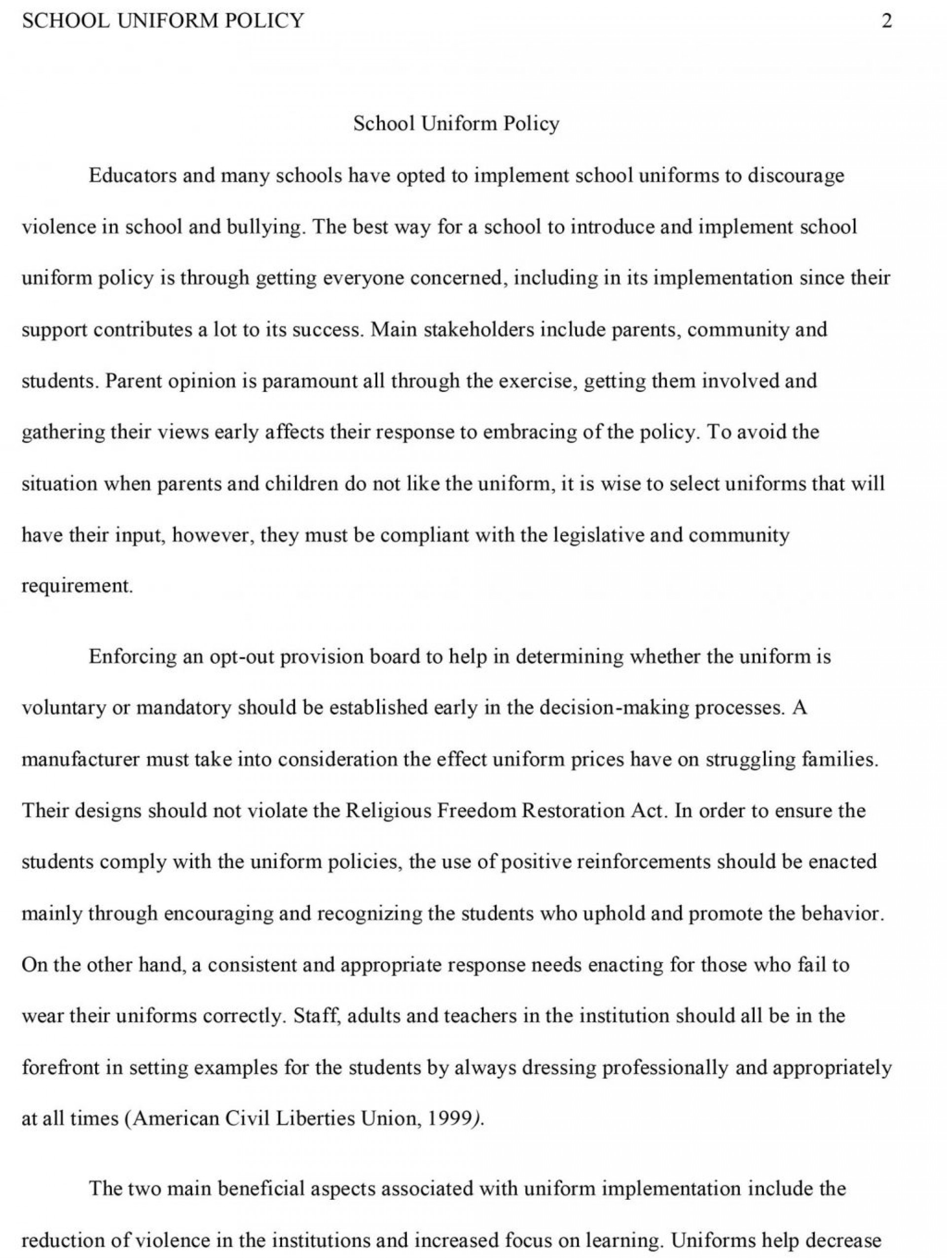 007 Research Paper How To Write Conclusion For Pdf Should Students Wear School20niforms Essay Title Argumentative Against Cons20 Amazing A 1920