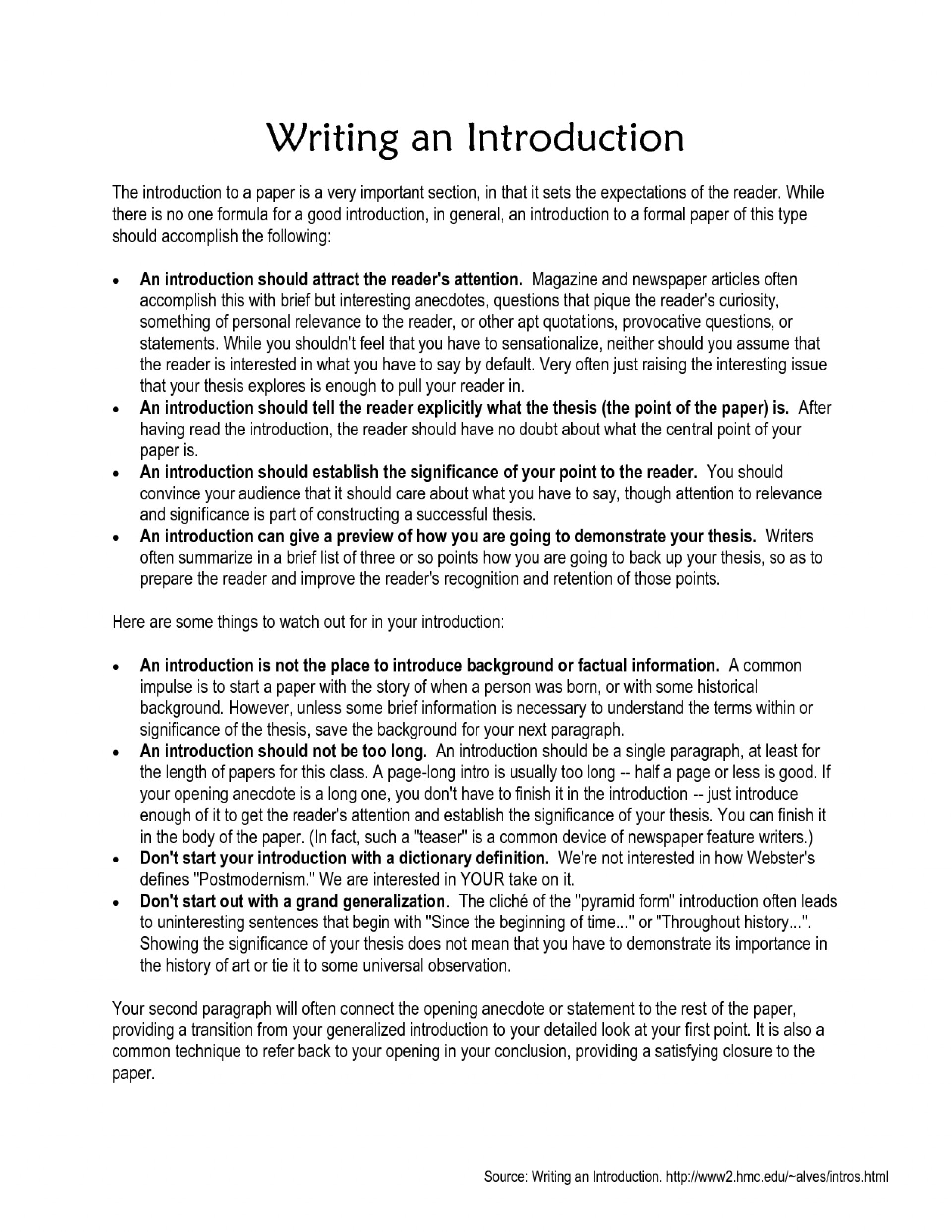 007 Research Paper How To Write Conclusion Paragraph Best A Great 1920