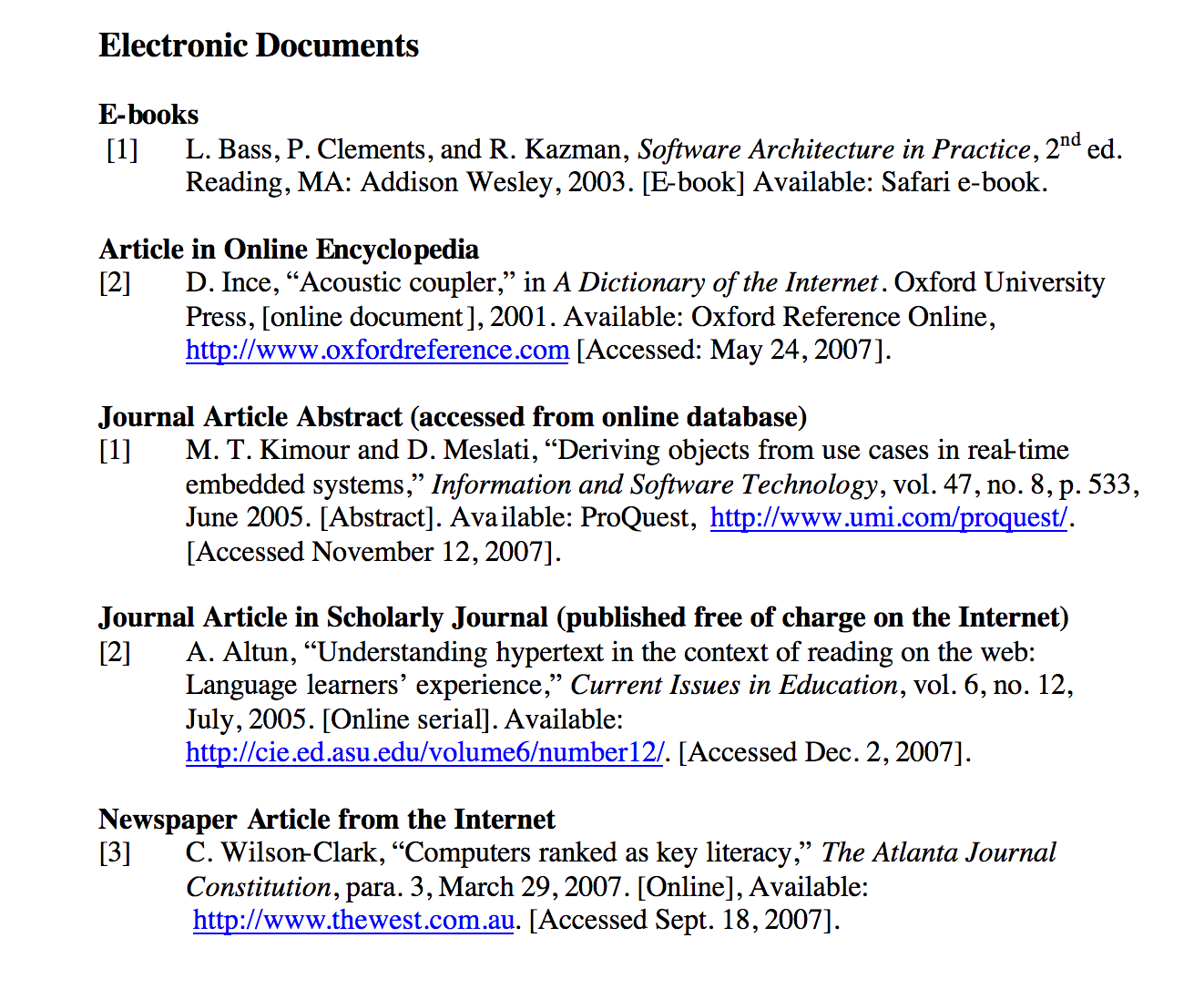 007 Research Paper Ieee Format For References In 1 1528899707 Exceptional Full