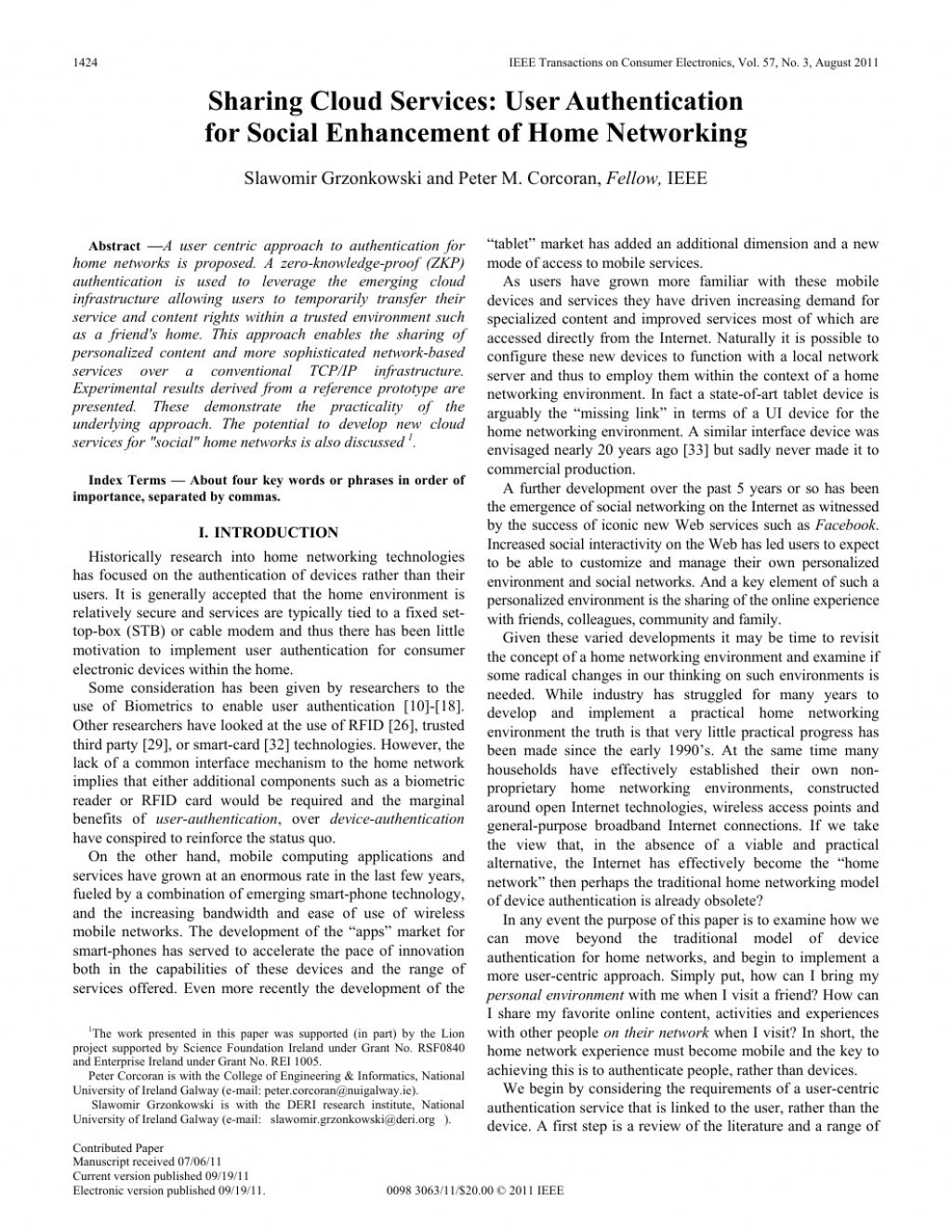 007 Research Paper Ieee Papers In Computer Science Pdf Phenomenal Large