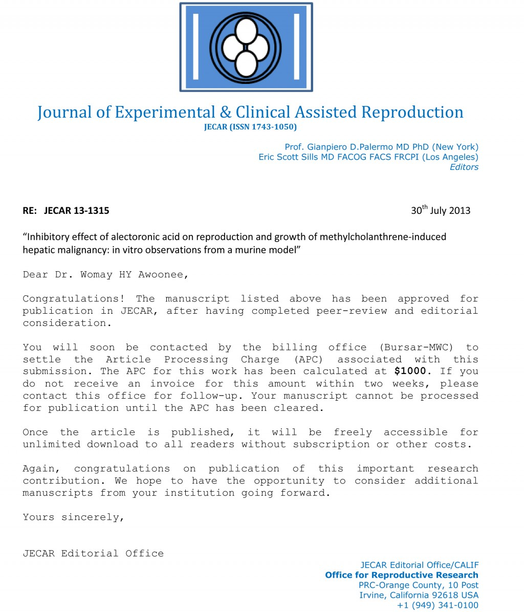 007 Research Paper Jecar Acceptance Enl How To Publish Without Striking A Professor Large