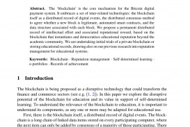 007 Research Paper Largepreview Blockchain Technology Marvelous Pdf