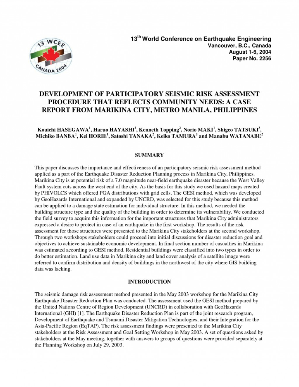 007 Research Paper Largepreview Earthquake Pdf Wondrous Philippines Large