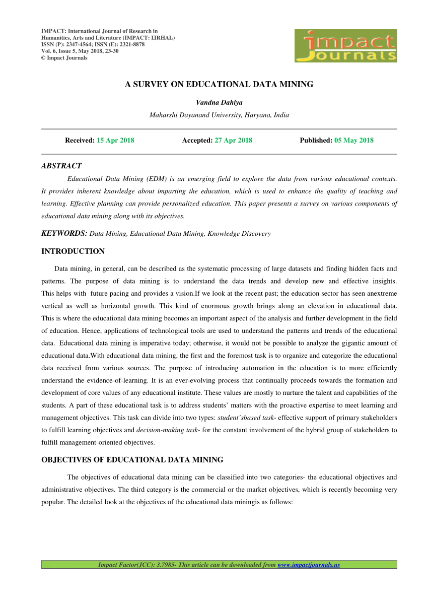 007 Research Paper Largepreview Educational Data Mining Papers Sensational Pdf Full