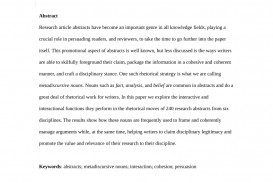 007 Research Paper Largepreview What Isnbstract In Sensational Is An Abstract A The Difference Between And Apa Examples