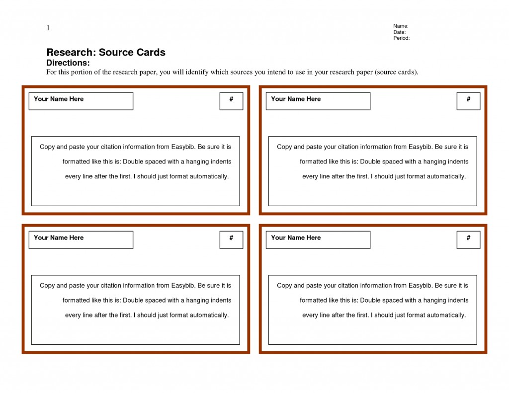 007 Research Paper Note Card Templates 442123 Cards Examples For Unique A Example Format Template Large