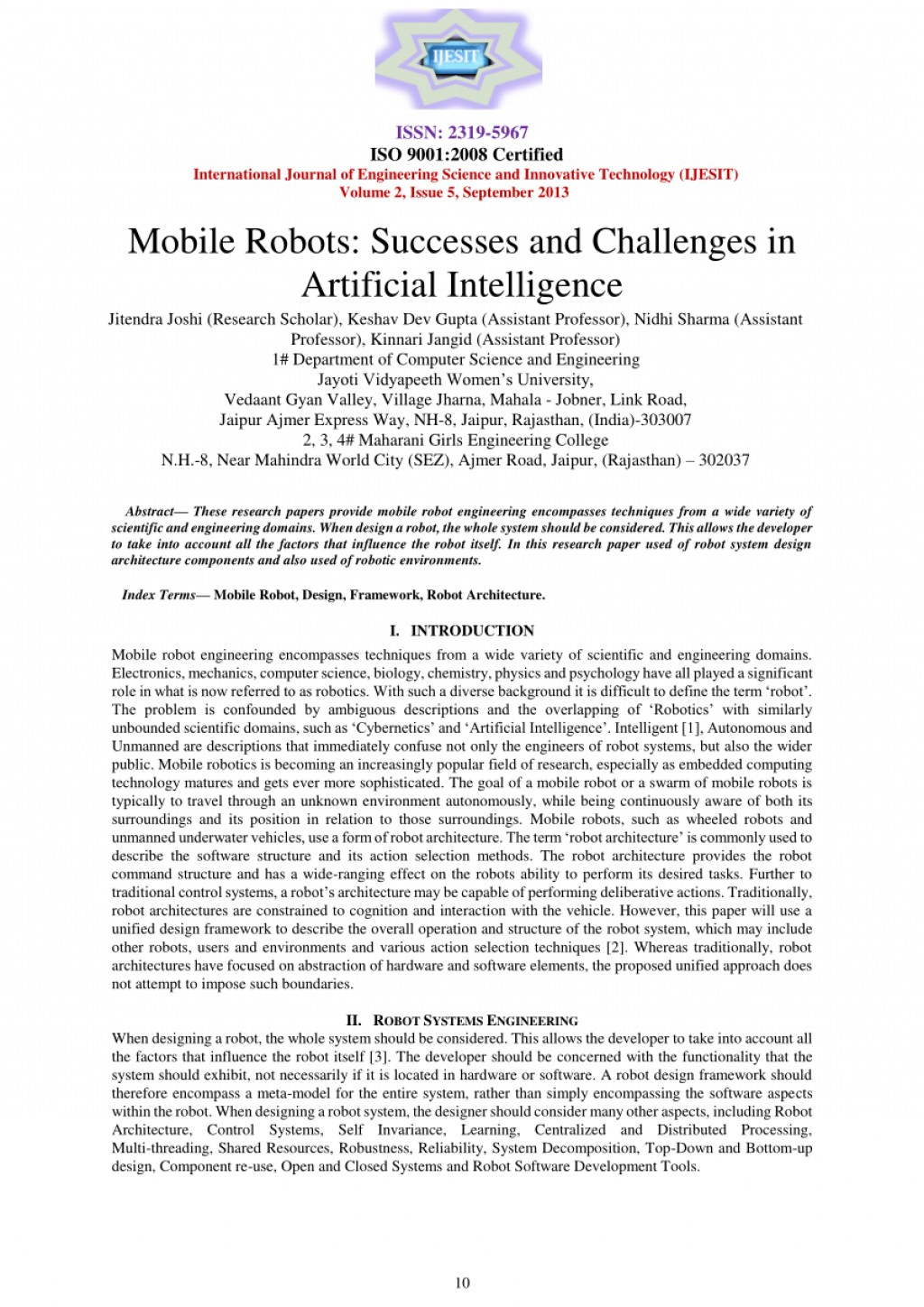 007 Research Paper Papers Artificial Intelligence Imposing On In Marketing Ieee Pdf Large