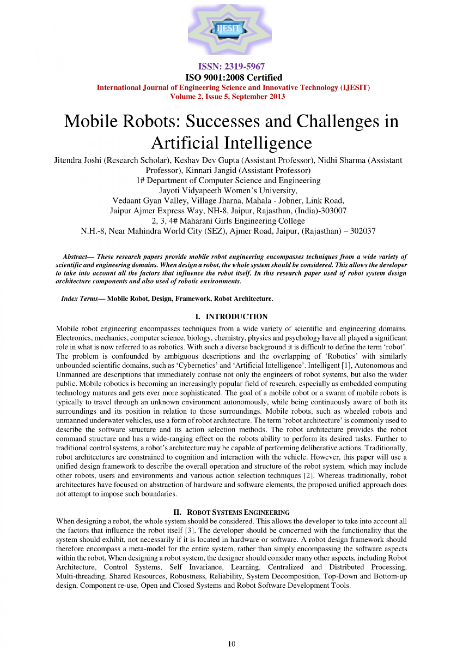 007 Research Paper Papers Artificial Intelligence Imposing On In Marketing Ieee Pdf 1920