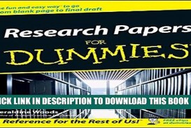 007 Research Paper Papers For Dummies X1080 Unforgettable Pdf Download Free