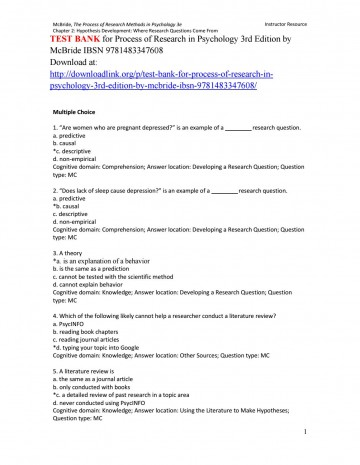007 Research Paper Psychology On Depression Page 1 Wondrous Topics 360