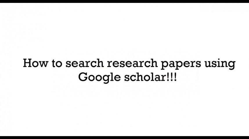007 Research Paper Search Papers Impressive Algorithms Free Engines Pdf