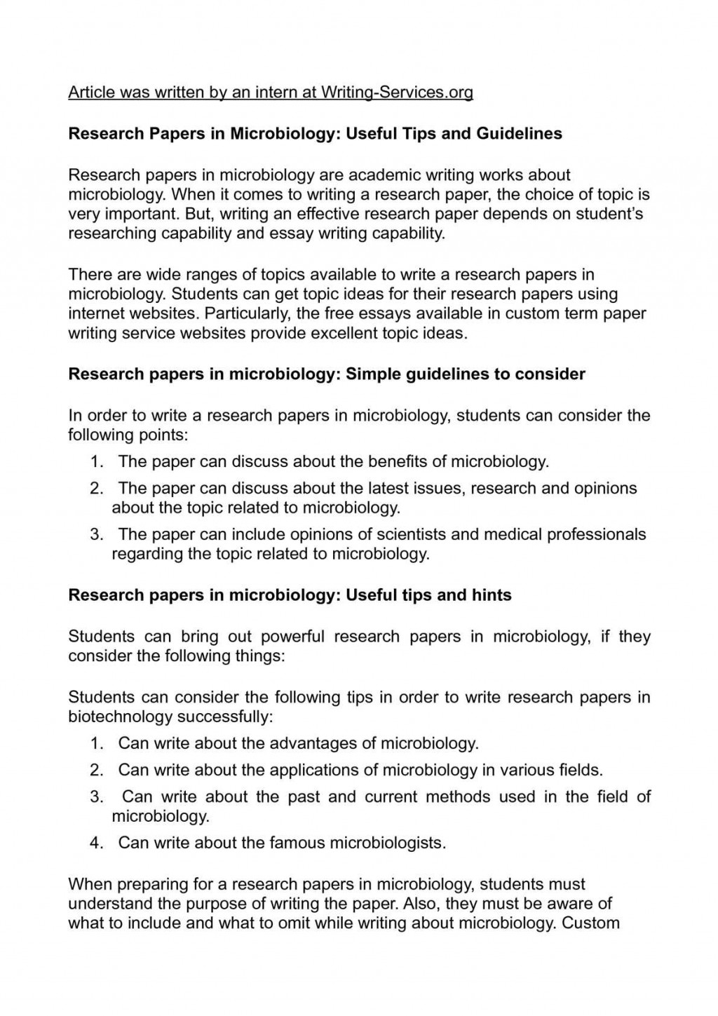 007 Research Paper Tips For Papers Wondrous Good Effective Writing Large