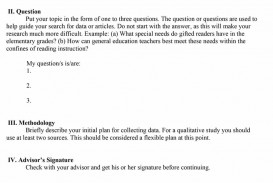 007 Research Proposal Template Paper Example Of In Impressive Education