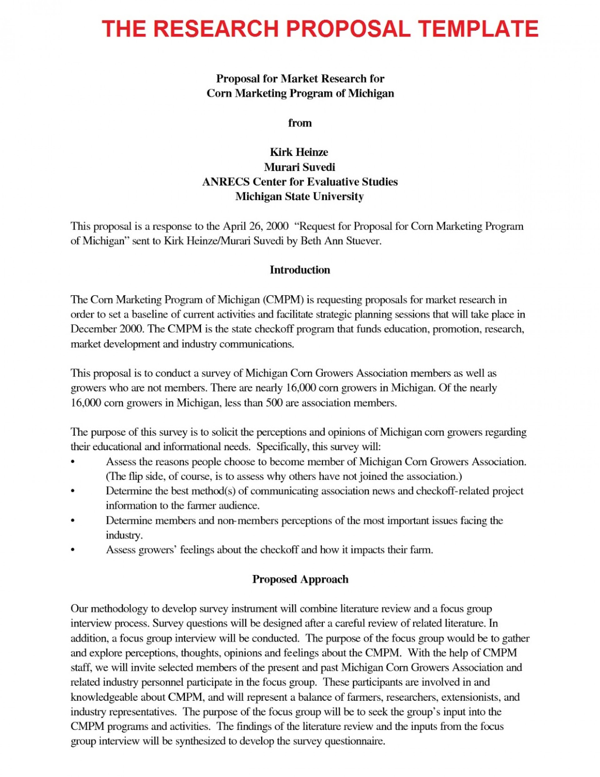 007 Research20proposal20template Research Paper Introduction Of Best A Apa For An Format 1920