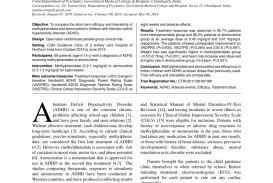 008 Adhd Research Papers Free Paper Fearsome