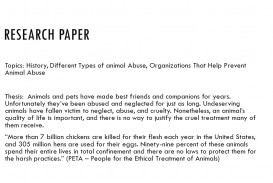 008 Animal Research Paper Topics Striking Cruelty Farm Ideas