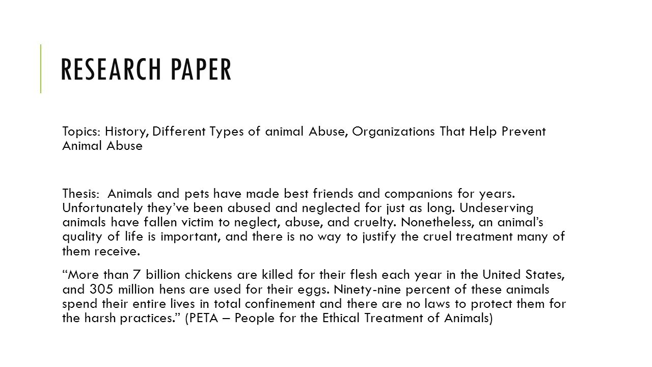 008 Animal Research Paper Topics Striking Cruelty Farm Ideas Full