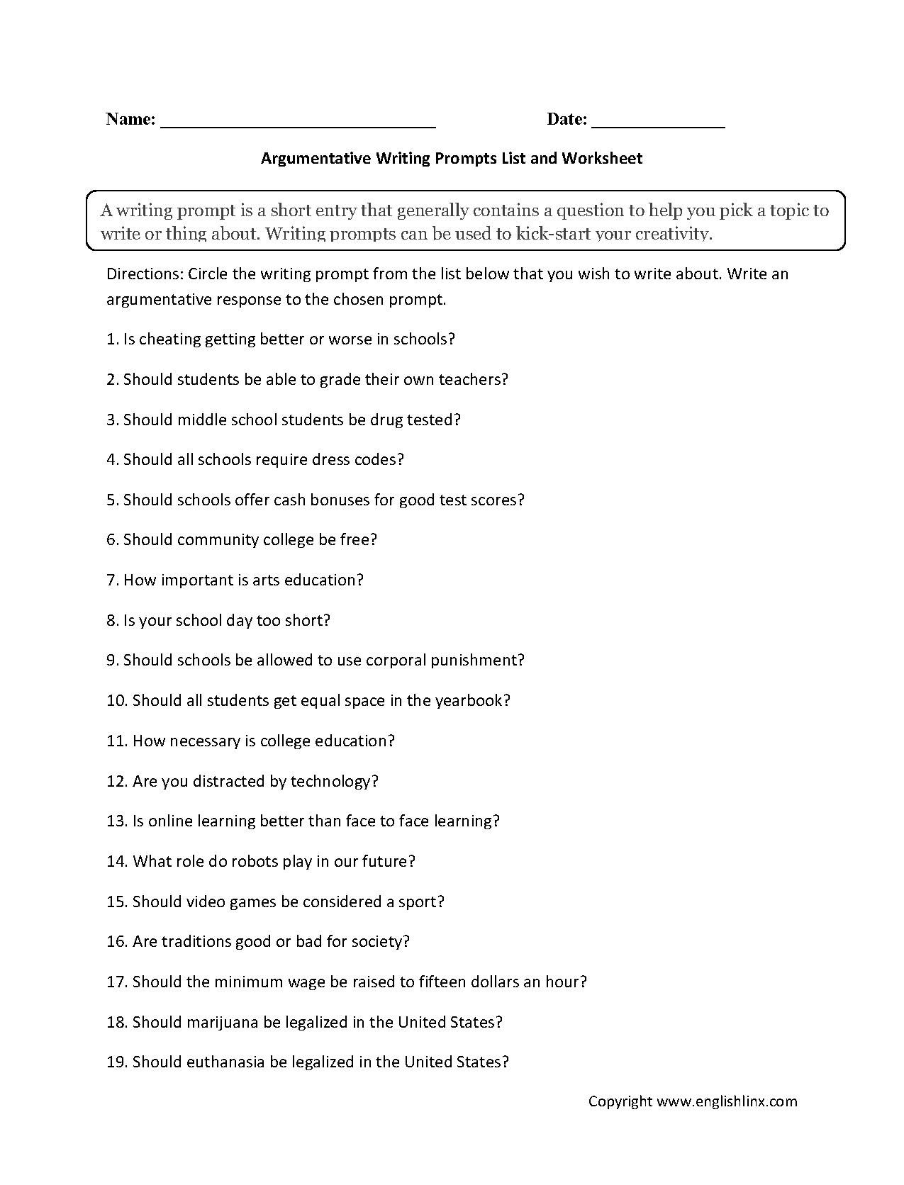 008 Argumentative Research Papers On Technology Paper Writing Prompts List Top Topics Full
