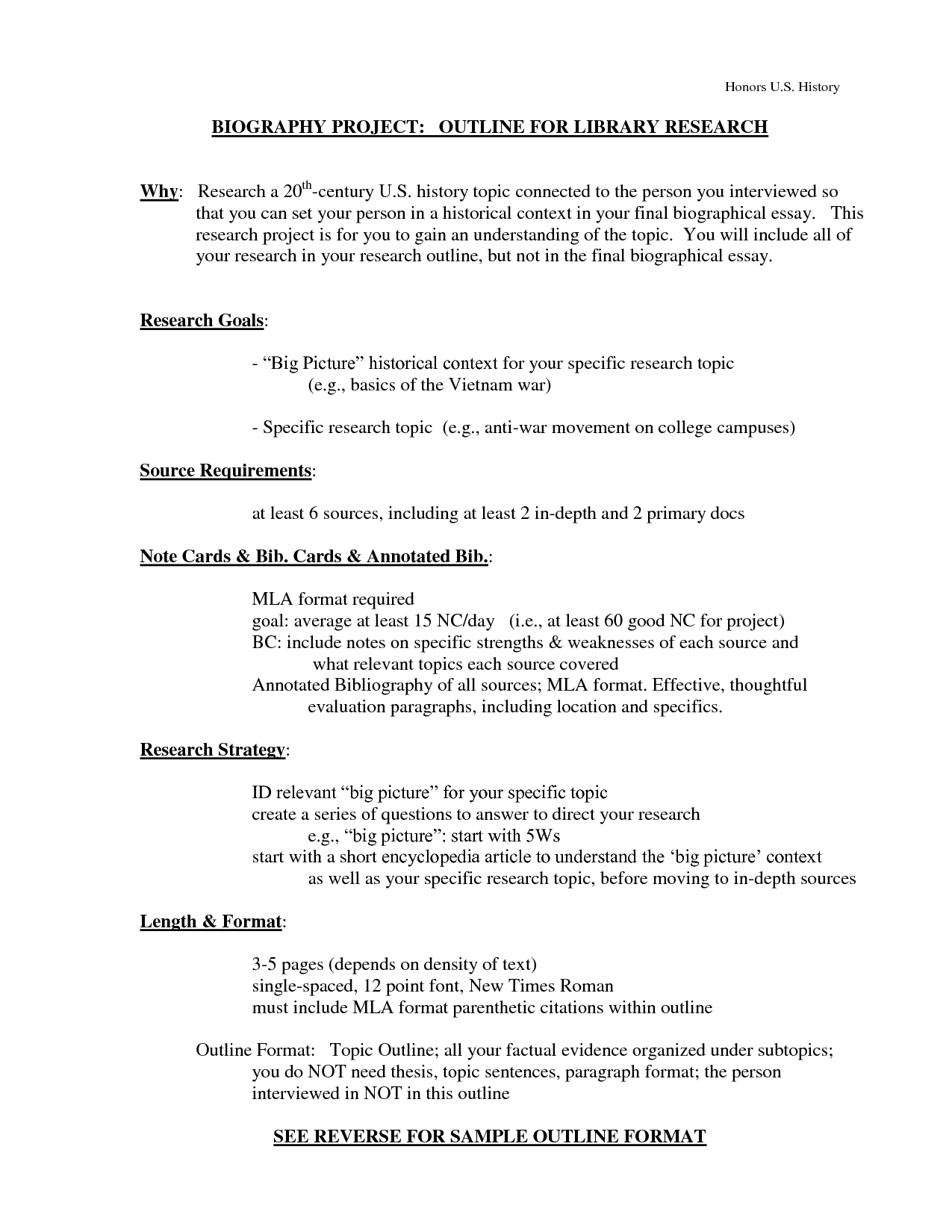 008 Biography Research Paper Outline 85037 How To Write Great Striking A Ppt Good Scientific Full
