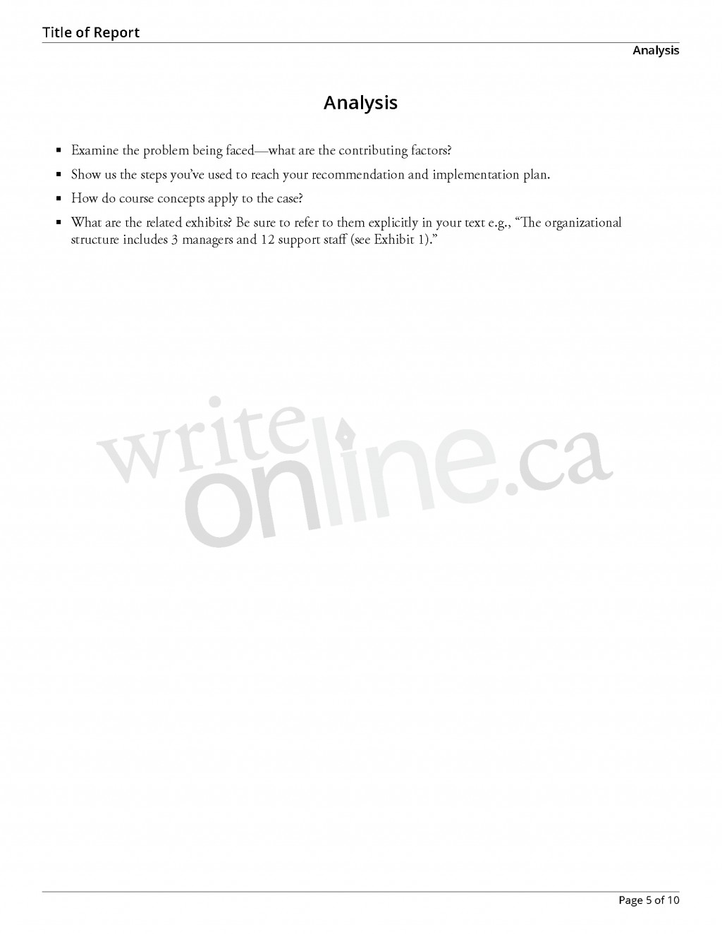 008 Casestudy Sample Page 05 Parts Of Research Paper For Middle Surprising A School High Students Large