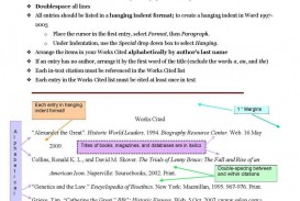 008 Cited Page For Research Paper Remarkable Sample Works How To Do Work