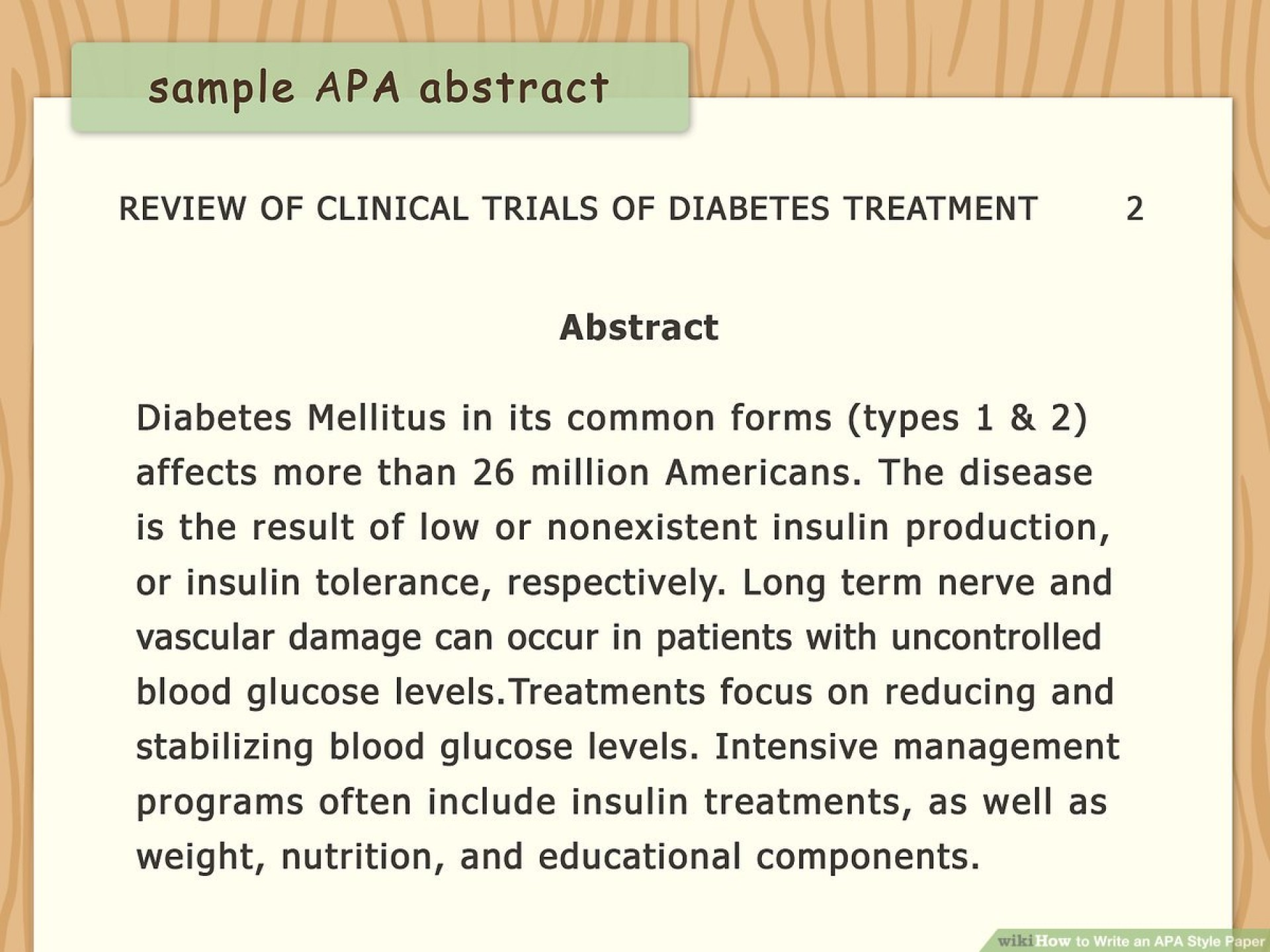 008 Diabetes Mellitus Research Paper Outline Aid1156038 V4 1200px Write An Apa Style Step Version Rare 1920