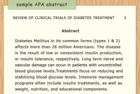 008 Diabetes Mellitus Research Paper Outline Aid1156038 V4 1200px Write An Apa Style Step Version Rare
