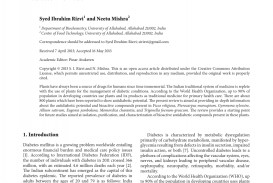 008 Diabetes Research Paper Striking Example