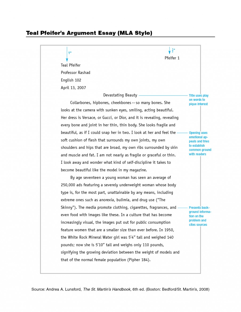 008 Format For Research Paper Mla Magnificent Example Works Cited Of With Title Page Large