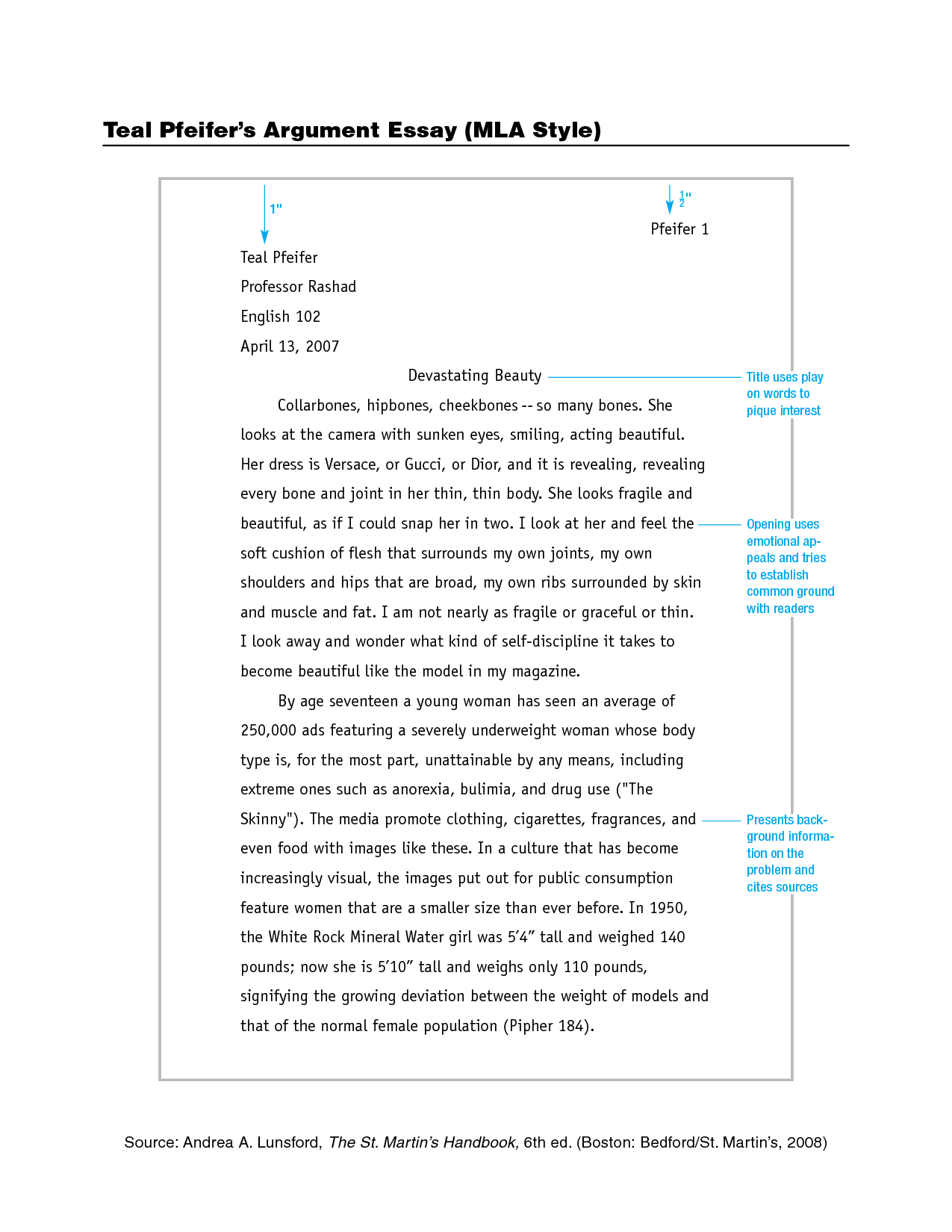008 Format For Research Paper Mla Magnificent Example Works Cited Of With Title Page Full