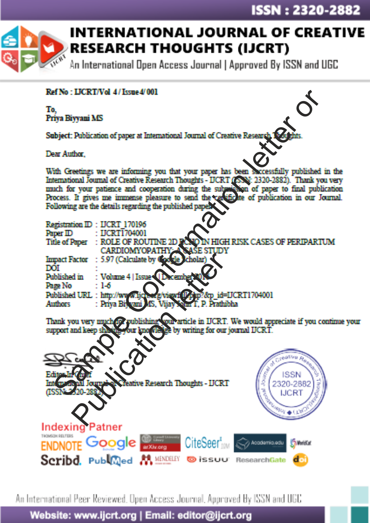 008 How To Publish Research Paper In International Journal Free Pdf Unusual Full