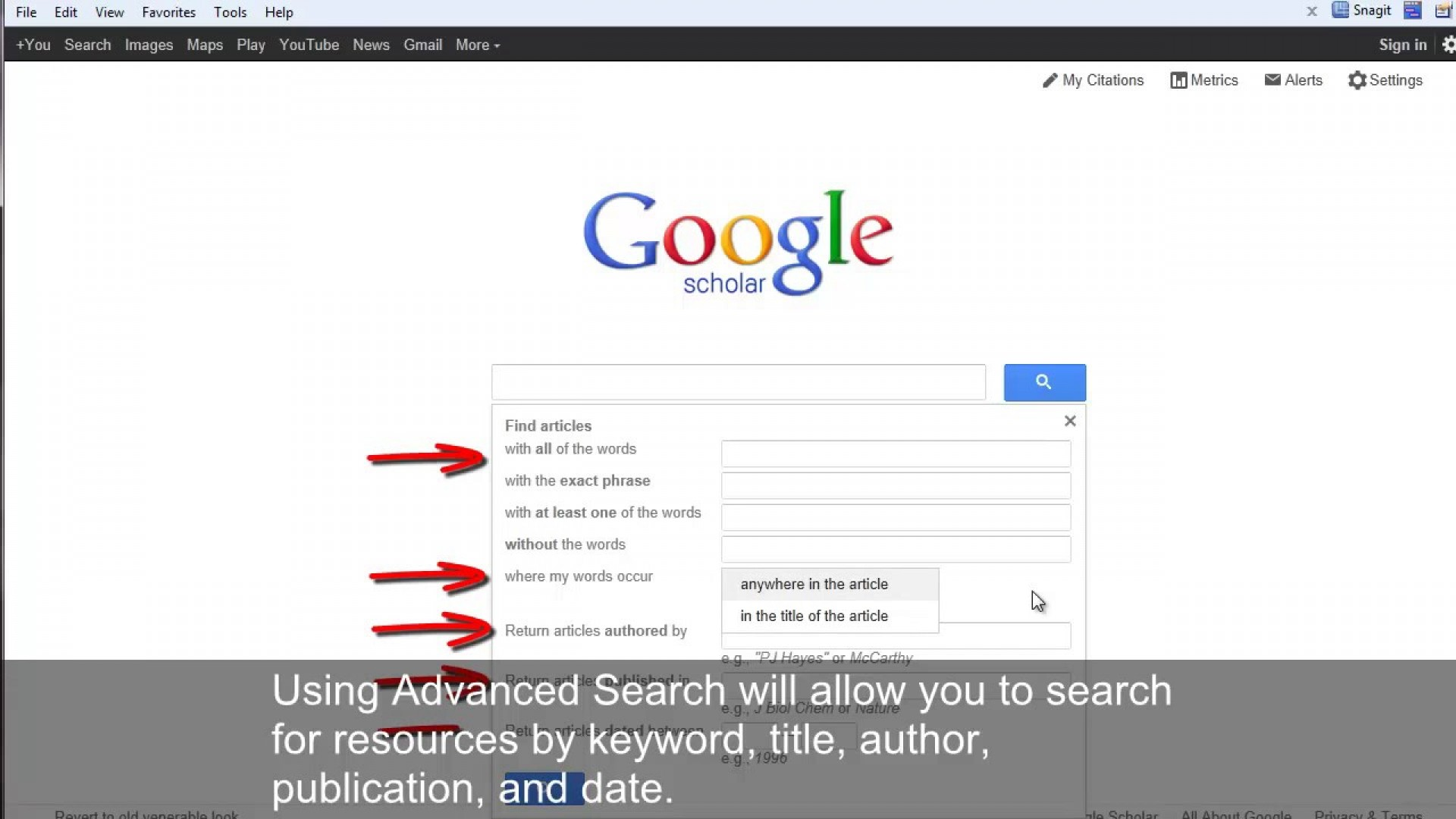 008 How To Publish Research Paper On Google Scholar Dreaded 1920