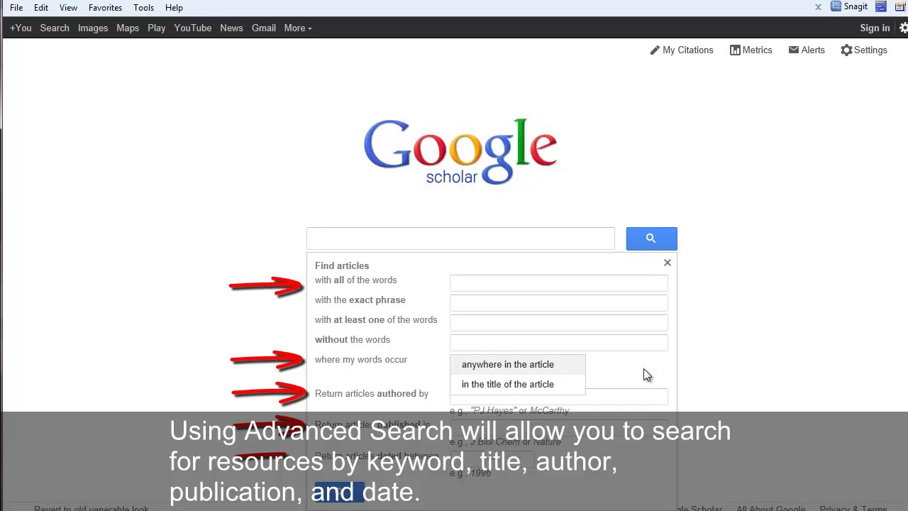 008 How To Publish Research Paper On Google Scholar Dreaded Full