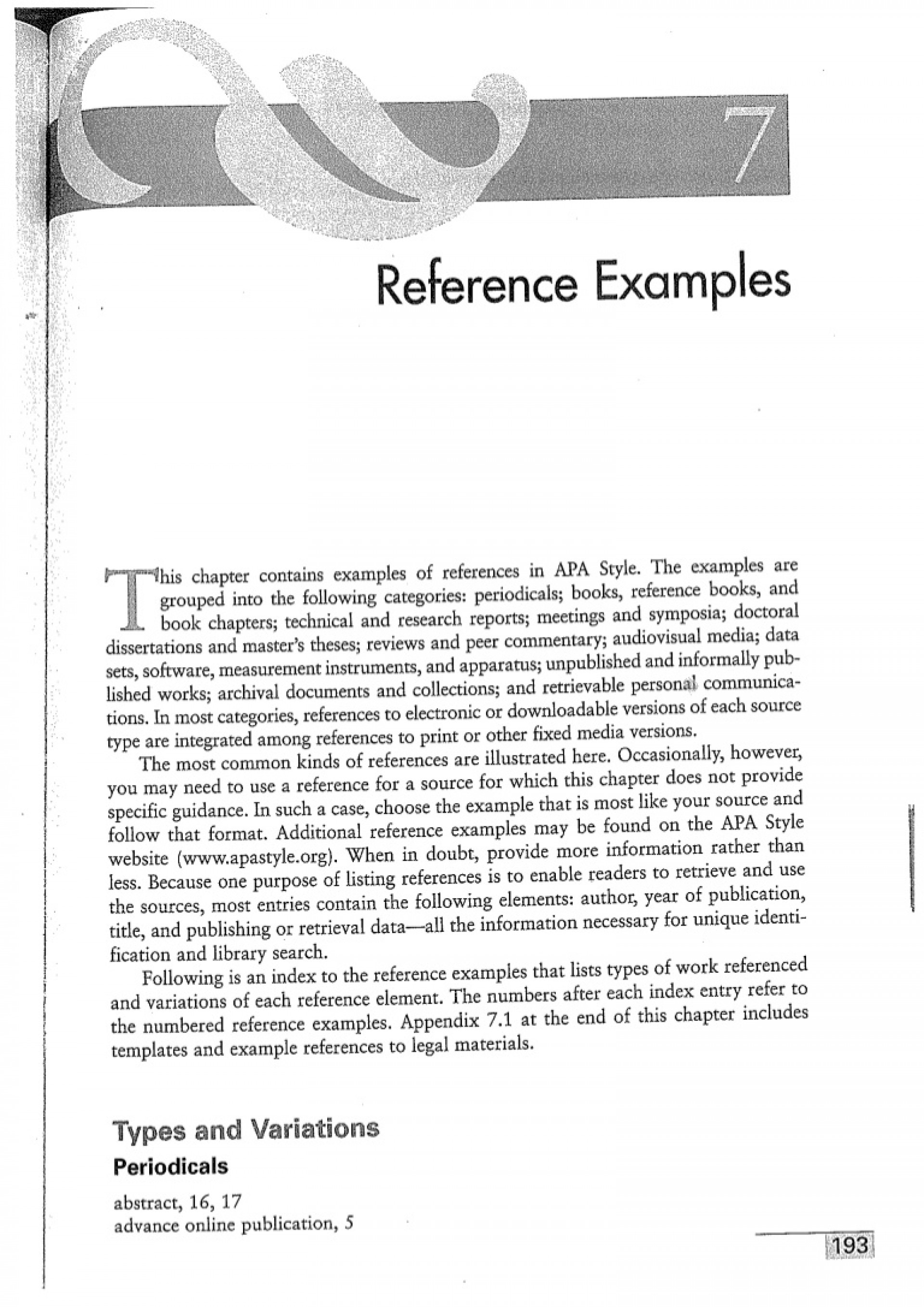 008 How To Write References In Research Paper Slideshare 1apareference Examples Lva1 App6892 Thumbnail Excellent 1920