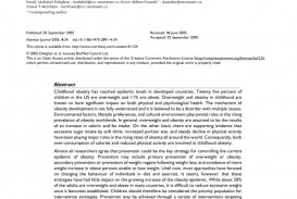 008 Largepreview Nursing Research Articles On Childhood Obesity Stirring