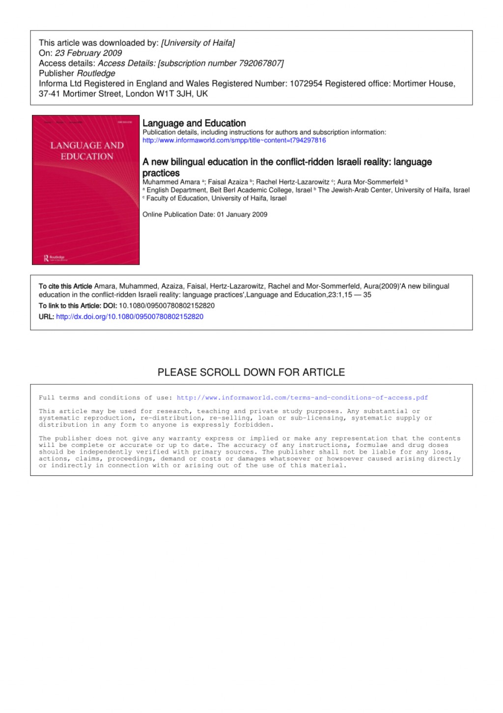 008 Largepreview Research Paper Bilingual Education Unusual Pdf Large